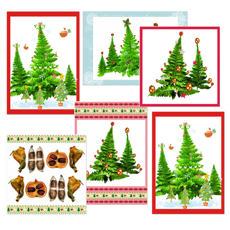 Pack of 6 Christmas cards £17