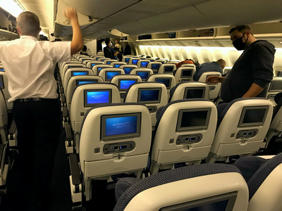 BA11 29th October 2020, 38 passengers.