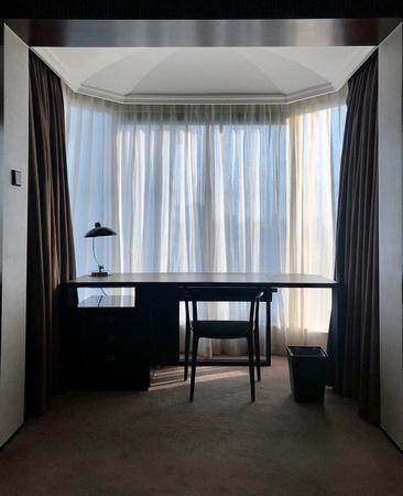 Room 1103 Shangri-La Hotel quarantine.